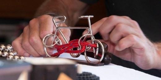 Geduldspiele-Fahrrad
